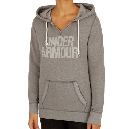 Under Armour Favorite Fleece Hoody Women - Grey