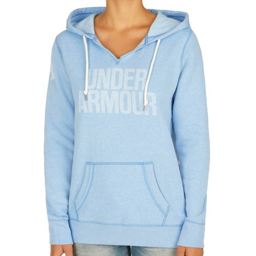 Under Armour Favorite Fleece Hoody Women - Blue