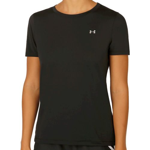 Under Armour Heatgear T-Shirt Women - Black