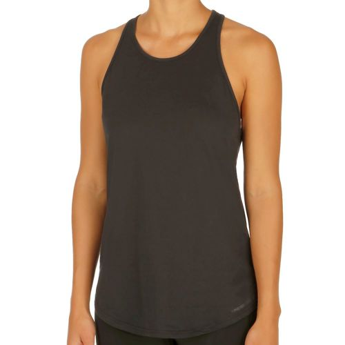 Under Armour Charged Cotton Microthread Keyhole Tank Top Women - Black