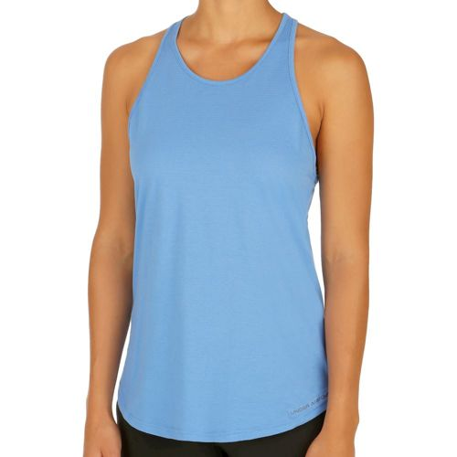 Under Armour Charged Cotton Microthread Keyhole Tank Top Women - Blue
