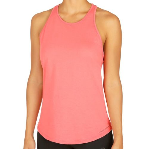 Under Armour Charged Cotton Microthread Keyhole Tank Top Women - Coral