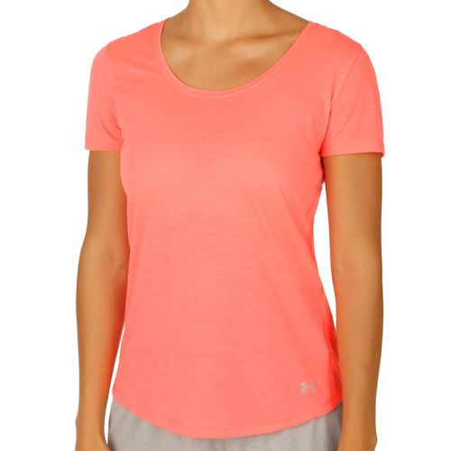 Under Armour Streaker T-Shirt Women - Lightred, Dark Blue