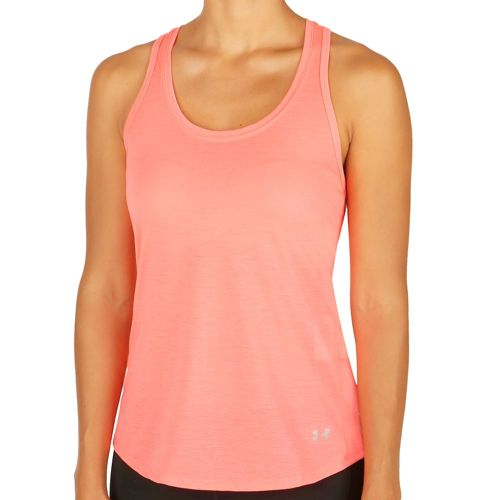 Under Armour Streaker Tank Top Women - Lightred, Dark Blue