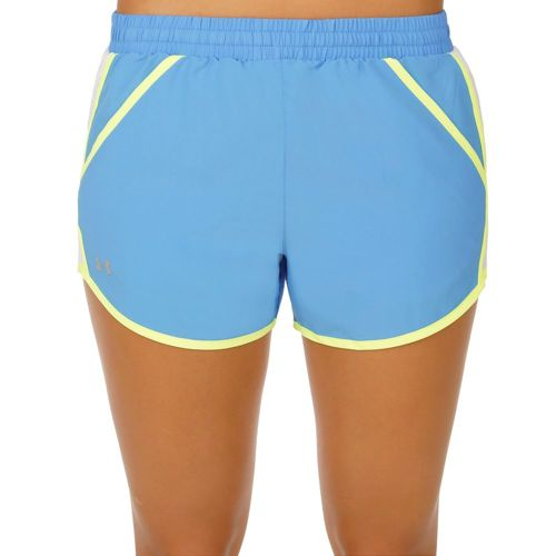 Under Armour Fly By Shorts Women - Blue, White