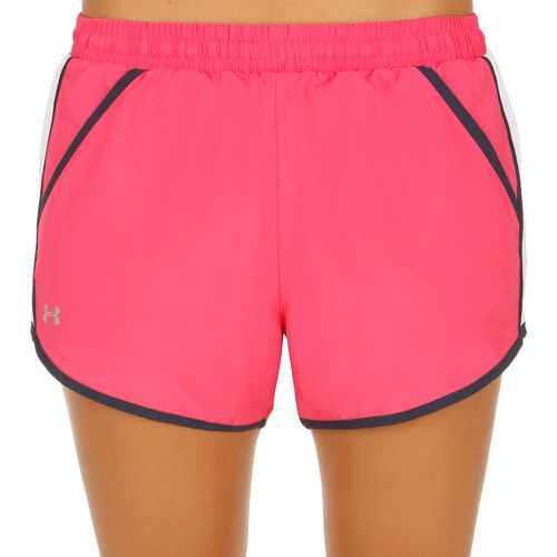 Under Armour Fly By Shorts Women - Pink, White