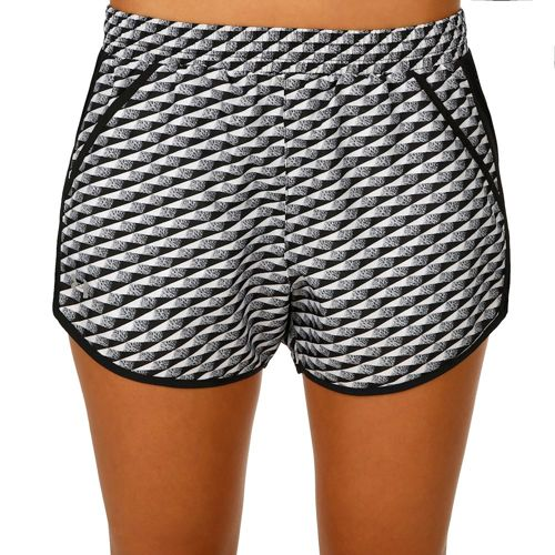 Under Armour Fly By Printed Shorts Women - Black, White
