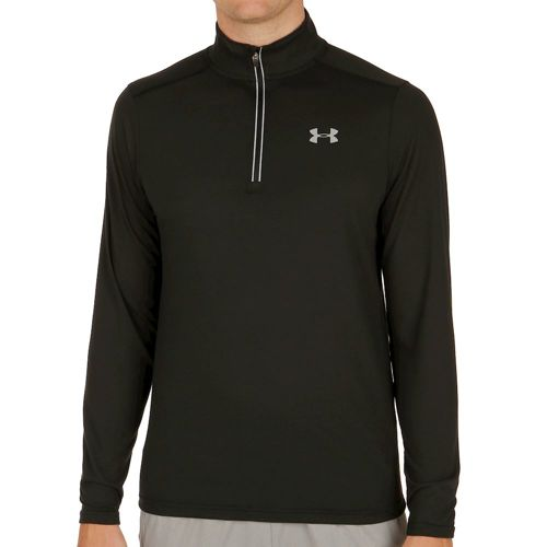 Under Armour Streaker 1/4 Zip Long Sleeve Men - Black
