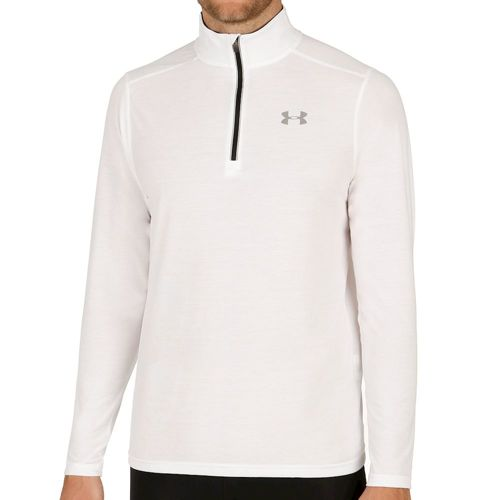 Under Armour Streaker 1/4 Zip Long Sleeve Men - White, Black