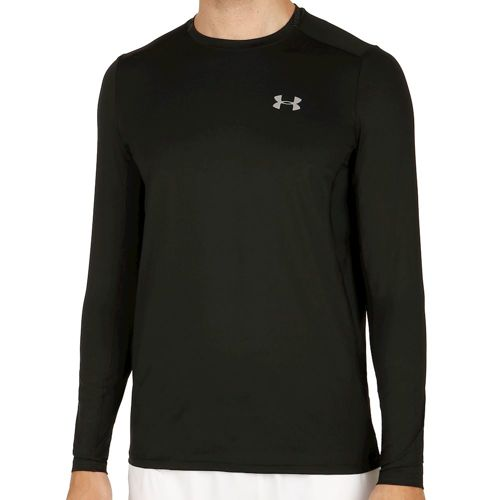 Under Armour Coolswitch Run Long Sleeve Men - Black, Grey