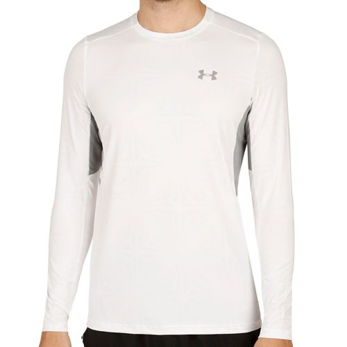 Under Armour Coolswitch Run Long Sleeve Men - White