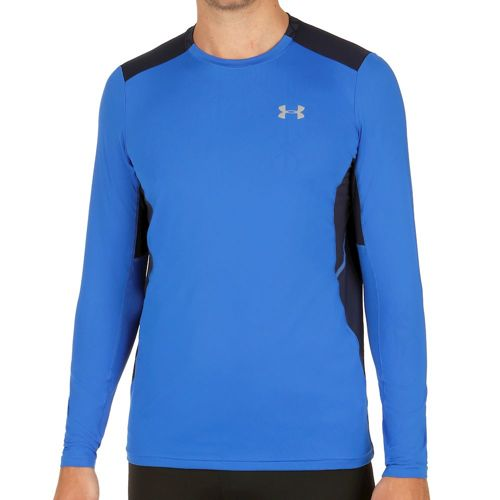 Under Armour Coolswitch Run Long Sleeve Men - Blue, Dark Blue