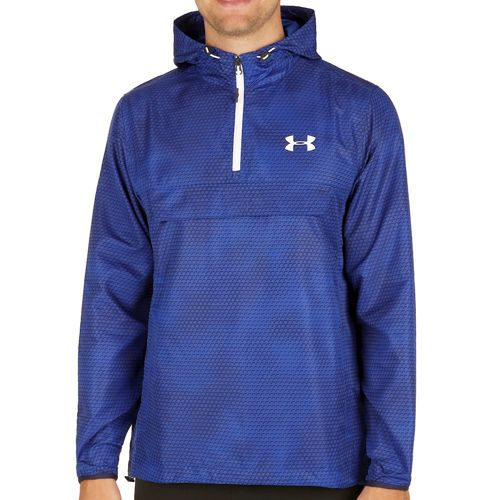 Under Armour Sportstyle Anorak Training Jacket Men - Blue, White
