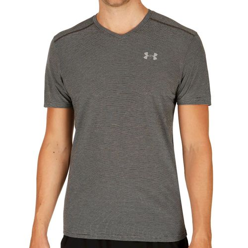 Under Armour Streaker V-Neck Men - Dark Grey