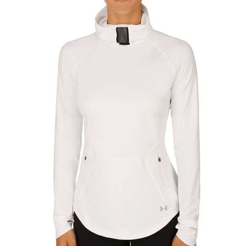 Under Armour No Breaks Balaclava Hoody Women - White, Black