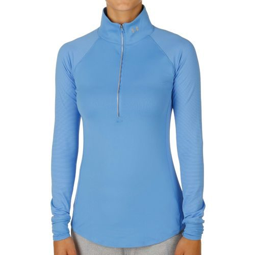 Under Armour Layered Up 1/2 Zip Long Sleeve Women - Blue