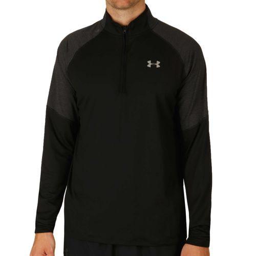 Under Armour No Breaks 1/4 Zip Long Sleeve Men - Black