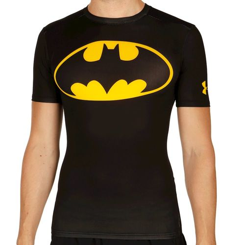 Under Armour Alter Ego Compression T-shirt Men - Black, Yellow