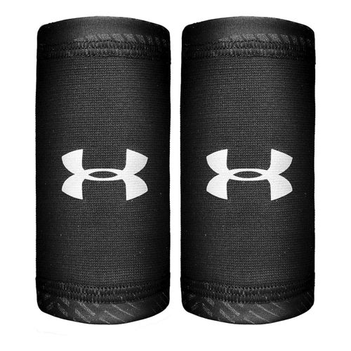 Under Armour Coolswitch Wristband 2 Pack Men - Black, Grey