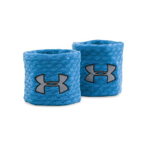 Under Armour Jacquard Wristband - Blue, Black