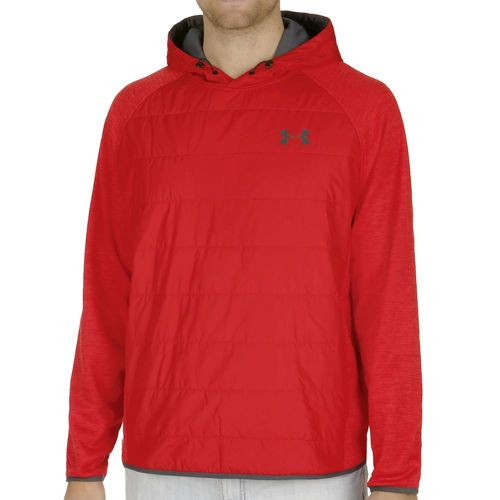 Under Armour Swacket Insulated Popover Hoody Men - Red, Black