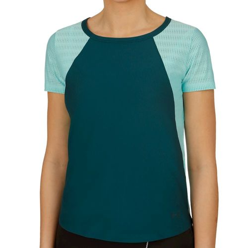 Under Armour Vanish Disrupt Mesh T-Shirt Women - Petrol, Turquoise