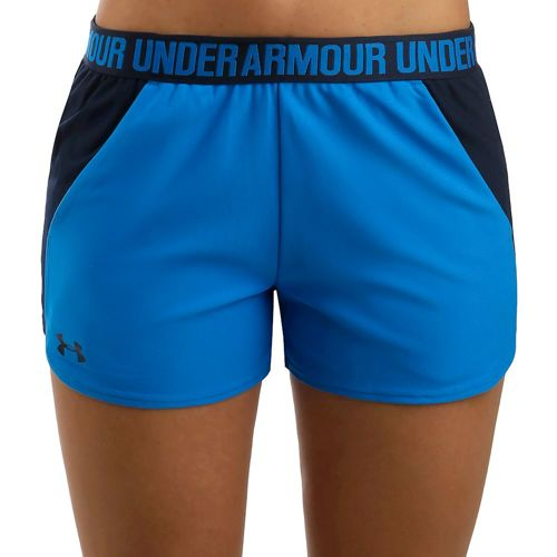 Under Armour Play Up 2.0 Shorts Women - Blue, Dark Blue