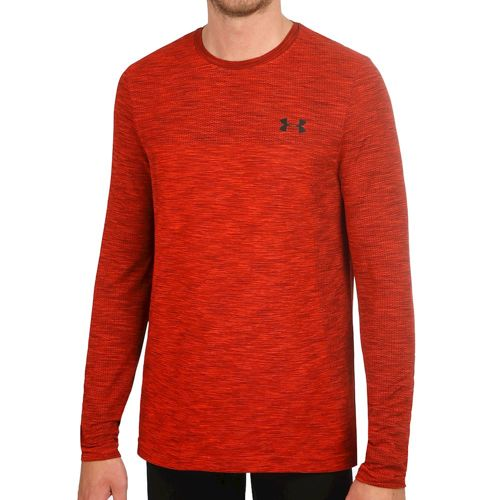 Under Armour Siphon Long Sleeve Men - Red, Black