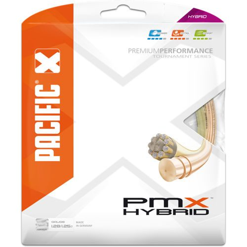 Pacific PMX Hybrid 2x 6,5m Natur, Light-orange String Set - Ecru