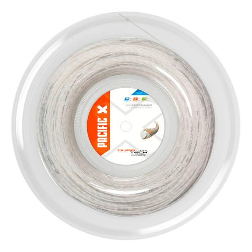 Pacific Dura Tech Flex String Reel 200m - White