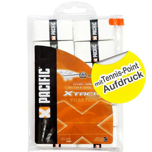 Pacific X Tack PRO Tennis-Point 12 Pack - White
