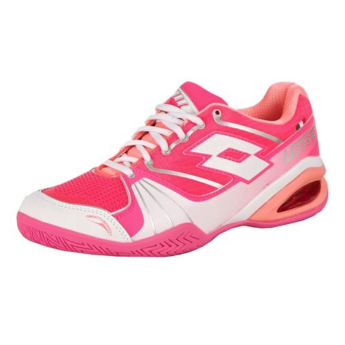 Lotto Stratosphere Speed All Court Shoe Women - Pink, Pink