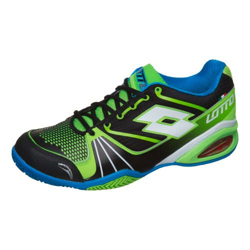 Lotto Stratosphere Clay Clay Court Shoe Men - Black, Neon Green