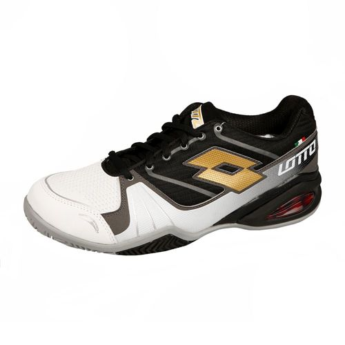 Lotto Stratosphere Clay Clay Court Shoe Men - Black, White