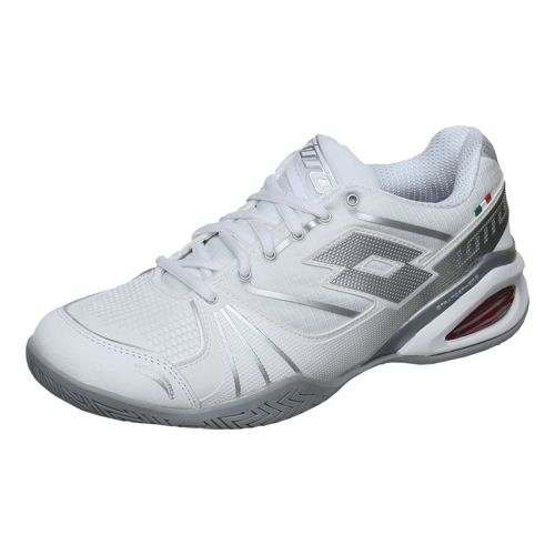 Lotto Stratosphere Speed All Court Shoe Women - White, Silver