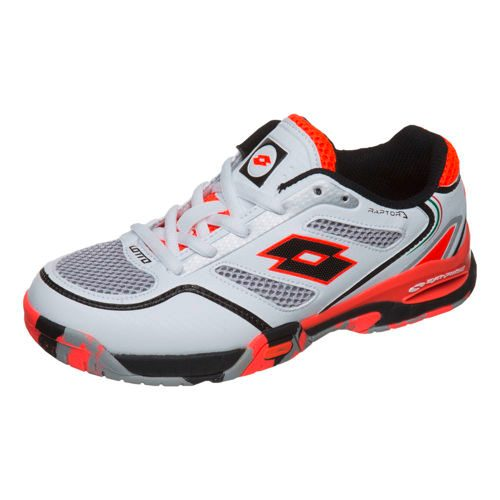 Lotto Raptor Evo II All Court Shoe Kids - White, Orange