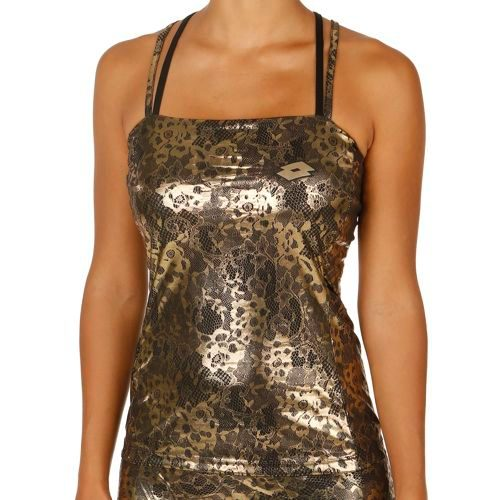 Lotto Lux Tank Top Women - Gold