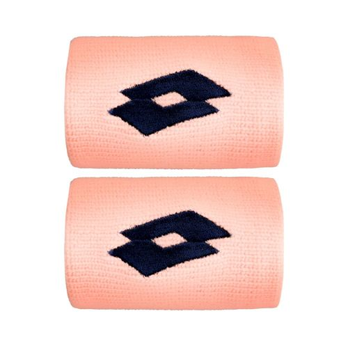 Lotto Ace II Wristband 2 Pack - Coral