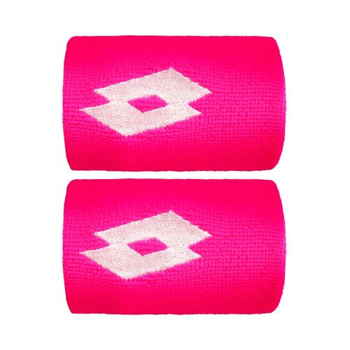 Lotto Ace II Wristband 2 Pack - Pink