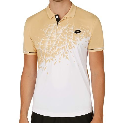 Lotto Blast Polo Men - White, Gold