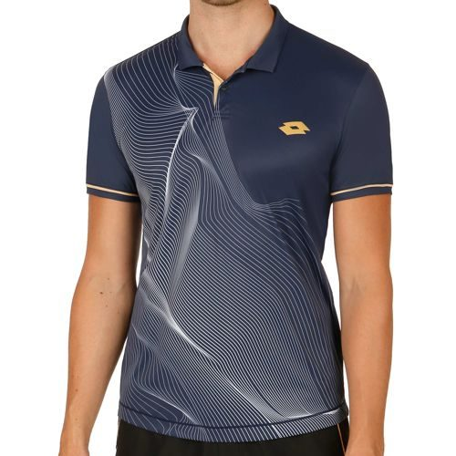 Lotto Blast Polo Men - Grey, Dark Blue