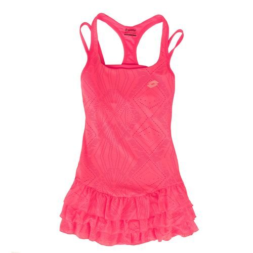 Lotto Agnieszka Radwanska Lacy Dress Women - Pink