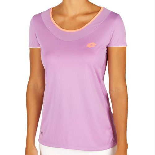 Lotto Shela II T-Shirt Women - Violet