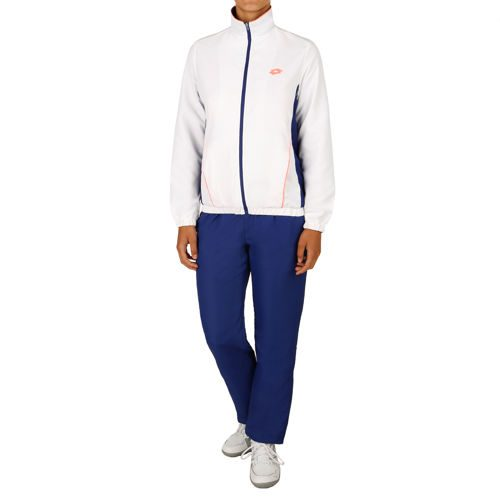 Lotto Shela II Tracksuit Women - White, Dark Blue