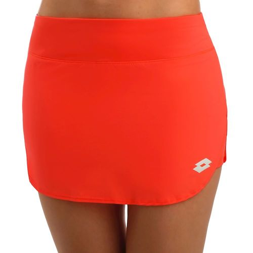 Lotto Tech BS PL Skirt Women - Coral, White