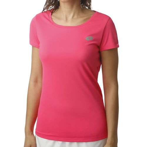 Lotto X-Fit II PL T-Shirt Women - Pink, Silver