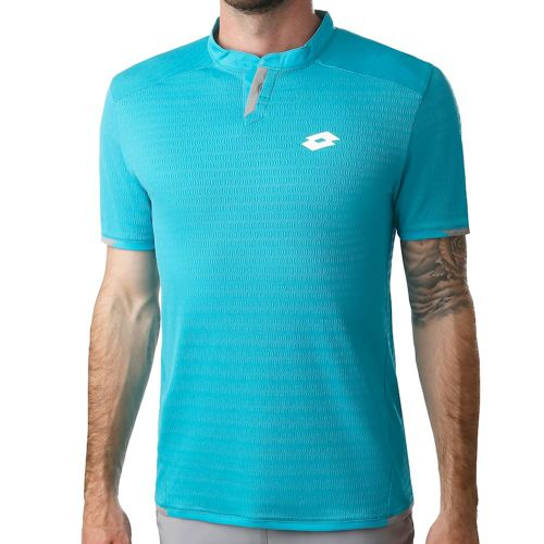 Lotto Tech PL Polo Men - Blue, Grey
