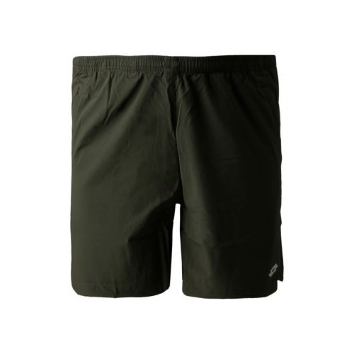 Lotto Tech PL 7in Shorts Men - Dark Green, Silver