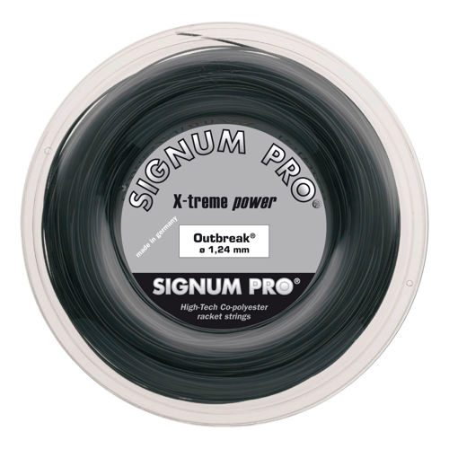 Signum Pro Outbreak String Reel 200m - Anthracite