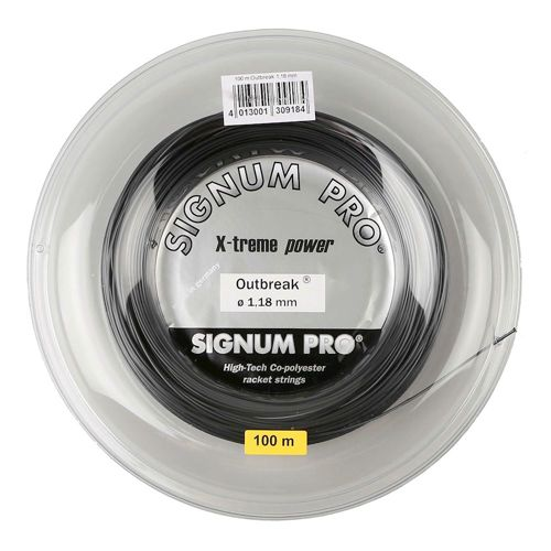 Signum Pro Outbreak String Reel 100m - Anthracite